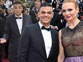 ben arfa attends cannes international film festival along with nba superstar carmelo anthony
