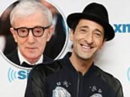 adrien brody says woody allen sex abuse allegations are 'not something to focus on'