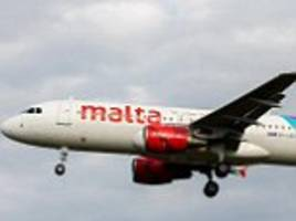 air malta flight pilot aborts landing just 'a few metres' above the tarmac