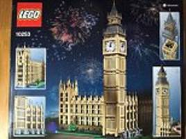 rebuild parliament yourself! the palace of westminster might be crumbling, but lego has launched its very own 4,163 piece set so you can build a new home for mps