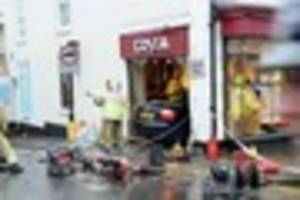 Elderly man to appear in court over fatal Costa Coffee shop crash...
