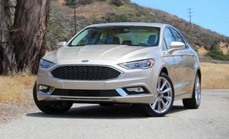 2017 ford fusion platinum first drive: quiet competence