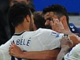 Mousa Dembele admits to losing control in Tottenham's draw at Chelsea