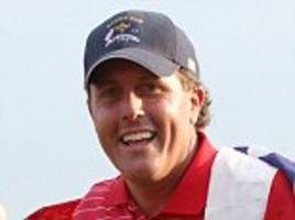 top golfer phil mickelson pays back £637k 'ill gotten gains' from insider share tips scam