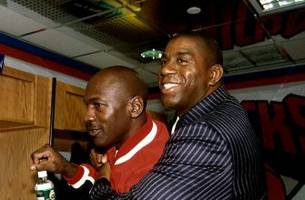 magic johnson trash talked michael jordan once and it did not go well