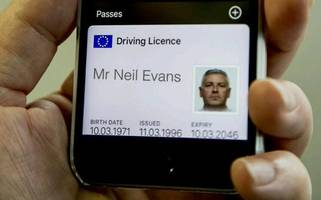 iPhone Driving Licence Planned?