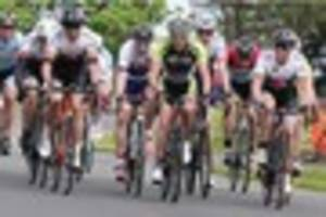 cycling: more than 200 racers compete in mid-devon's colin lewis...