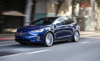 not just winging it: 2016 tesla model x tested