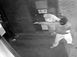 cctv footage shows manchester gunman open fire at social services building