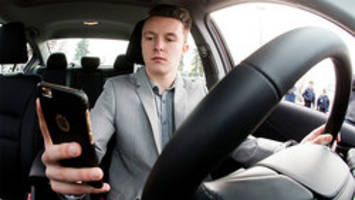 Safe texting zones for Ontario highways?
