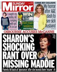 Madeleine McCann: Sharon Osbourne uses missing child to promote her crap TV show