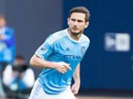 frank lampard booed on his return as new york city are thrashed 7-0 at home by rivals new york red bulls