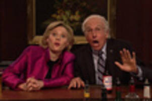 Video: Larry David Returns To SNL For Bernie's Last Dance With Hillary Clinton