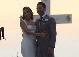 eva longoria marries jose baston in mexico - see the pics and rings