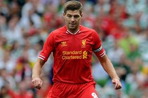 steven gerrard to celtic? bookies make brendan rodgers favourite to sign him