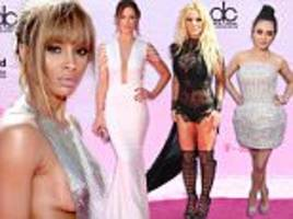 billboard music awards 2016 red carpet sees britney spears and ciara battle it out