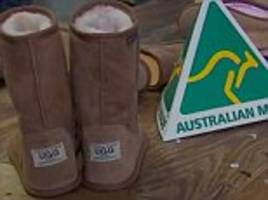 eddie oygur's australian leather ugg boot business being sued by us corporation for using the word ugg