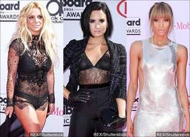 Billboard Music Awards 2016: Britney Spears, Demi Lovato, Ciara Glam Up on Red Carpet