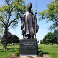 Archbishop Cupich to Bless 'Heroic' Statue of St. Pope John Paul II