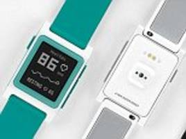 Pebble takes aim at Fitbit: Firm launches three new ...