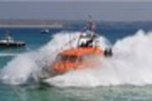 st ives lifeboat station welcomes new vessel