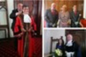 Councillor Kath Phillips becomes the new mayor of Walsall