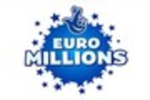 EUROMILLIONS RESULTS: Winning lottery numbers for tonight Tuesday...