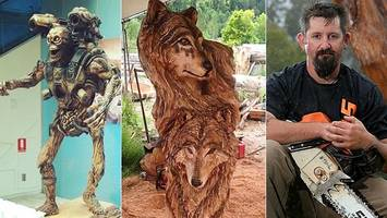 Chainsaw sculptor's monster talent