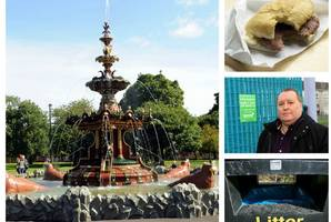 Just who is the mystery litter lout dumping dozens of rolls and sausage in Paisley beauty spot?