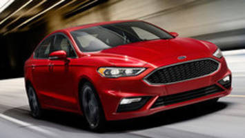 New Ford Fusion jumps potholes automatically