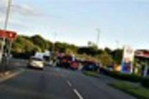 men quizzed after bus crash as driver recovers from head injuries