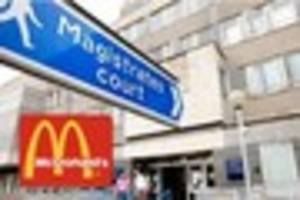 man driving erratically towards mcdonald's in yeovil is banned