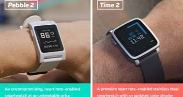 pebble 2 and pebble time 2 smartwatches are coming with heart rate sensors
