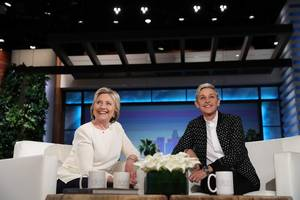 hillary clinton decides on vp nominee on 'ellen'