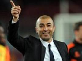 Roberto Di Matteo inching closer to being named the next Aston Villa manager