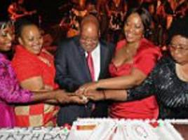 South Africa's President Zuma spent £370,000 of state cash on 11 cars
