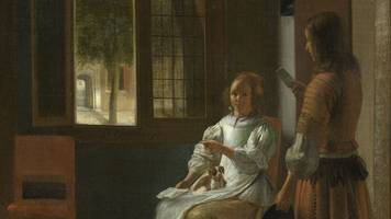 Tim Cook Sees iPhones Everywhere, Even In A 17th-Century Painting