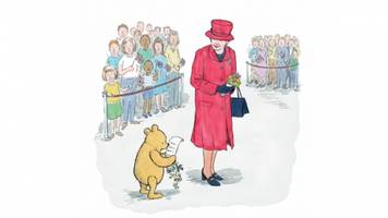 winnie-the-pooh is leaving the hundred acre wood and heading to london