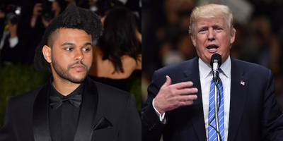 """The Weeknd """"Kimmel"""" Appearance Canceled Over Trump"""