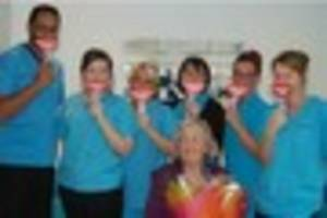 walsall woman's smile fronts charity's oral health campaign