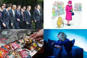Morning news headlines: World steel industry crisis high on agenda as G7 summit gets under way; Queen depicted in book to mark Winnie-the-Pooh's 90th birthday