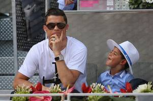 Real Madrid star Cristiano Ronaldo reveals son teases him that he's not as quick as Gareth Bale!