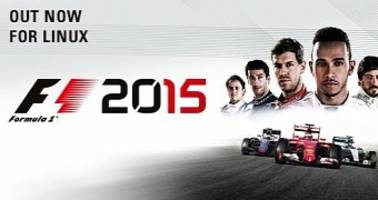 f1 2015 game launches on steam for linux & steamos, ported by feral interactive