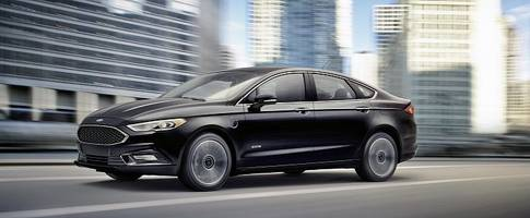2017 Ford Fusion Energi Has New Face and the Highest Range of Any PHEV in the US