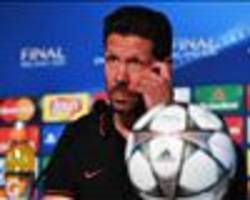 simeone dismisses 'defensive' jibes: i'm going to play with 11 in real madrid's area!