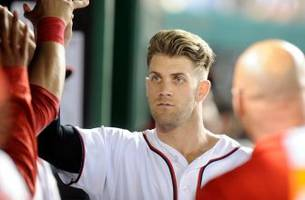 Bryce Harper is paranoid about people selling his batting gloves on eBay