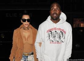 kim kardashian kicks kanye west out of their bel air house. why?