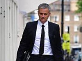 Jose Mourinho sponsors Jaguar let cat out the bag as the Portuguese prepares to hit ground running at Manchester United