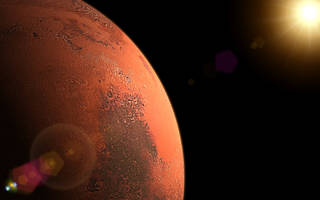 Mars faced an ice age 400,000 years ago, and it's still recovering