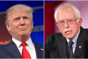 Donald Trump Releases Statement Backing out of Bernie Sanders Debate